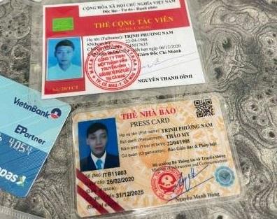 tống tiền,thẻ giả,thẻ nhà báo giả,Đắk Nông,Trịnh Phương Nam,truyền hình pháp luật