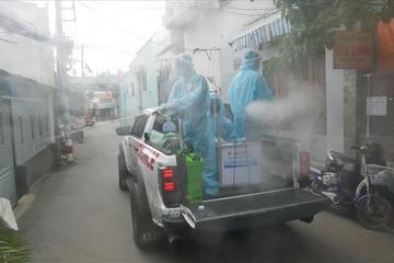 Bộ Y tế đề nghị các địa phương không phun khử khuẩn ngoài trời