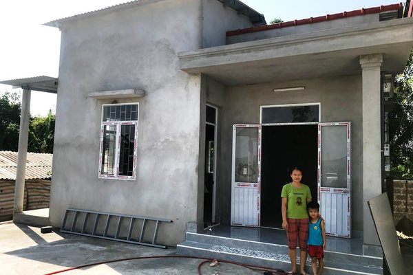 """Quảng Bình: Xây dựng 897 căn nhà """"An toàn chống chịu bão, lũ"""""""