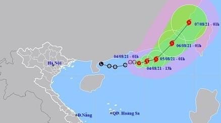 Thừa Thiên Huế đến Khánh Hòa nắng nóng đặc biệt gay gắt trên 39 độ C, áp thấp nhiệt đới mạnh lên thành bão