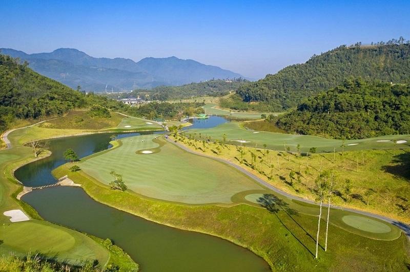 Sân golf Hilltop Valley Golf Club,Tập đoàn Geleximco,Hòa Bình