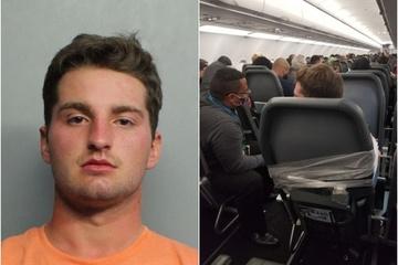 Nam hành khách bị trói chặt vào ghế máy bay vì sàm sỡ 2 nữ tiếp viên