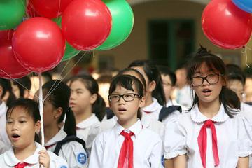Năm học mới, học sinh lớp 1 tựu trường sớm nhất từ ngày 23/8