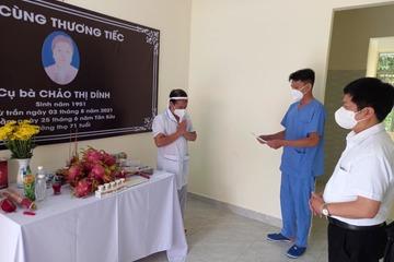 Nam điều dưỡng Hà Giang chịu tang mẹ từ tâm dịch TP.HCM