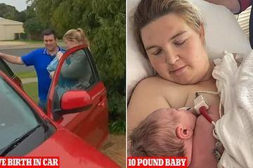 Sinh em bé nặng 4,5 kg trong xe ô tô khi trên đường đến bệnh viện