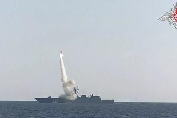 Mỹ 'toát mồ hôi' vì sợ tên lửa Nga đe dọa NATO ở Biển Đen