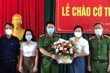 Khen thưởng nữ cán bộ tín dụng ở Hà Tĩnh mưu trí khống chế cướp