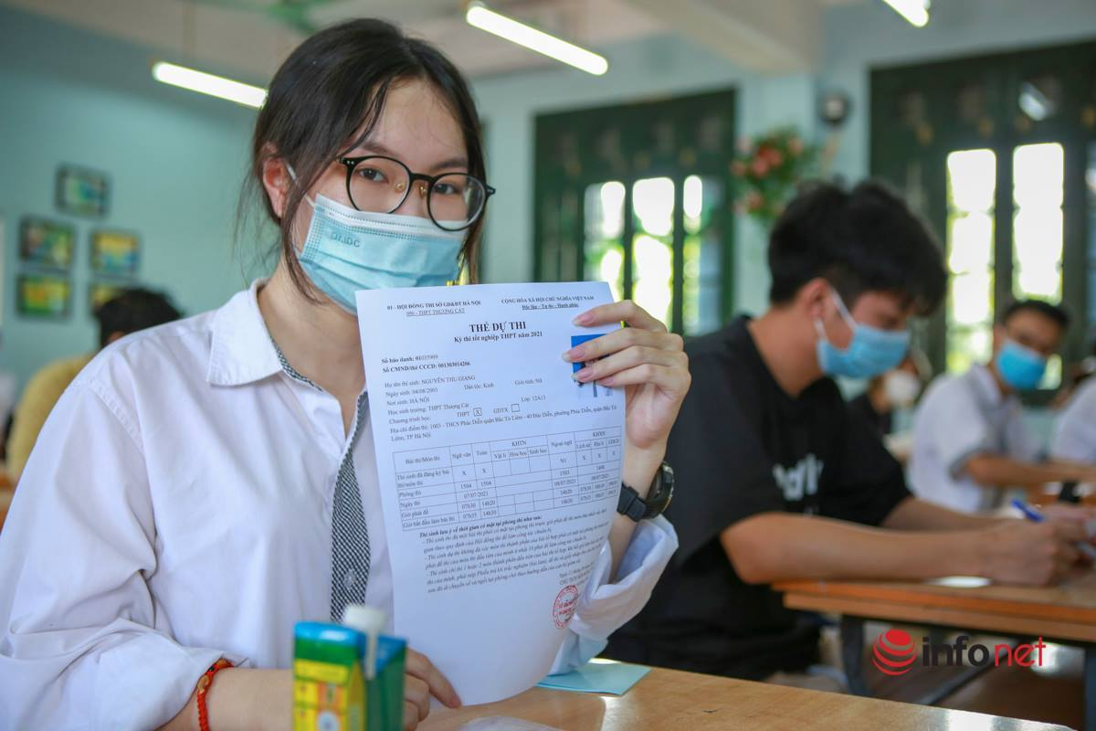24/8 sẽ công bố kết quả thi tốt nghiệp THPT đợt 2