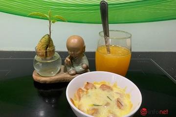 Bữa sáng 10 phút nhanh gọn, thơm ngon đủ chất cho bé