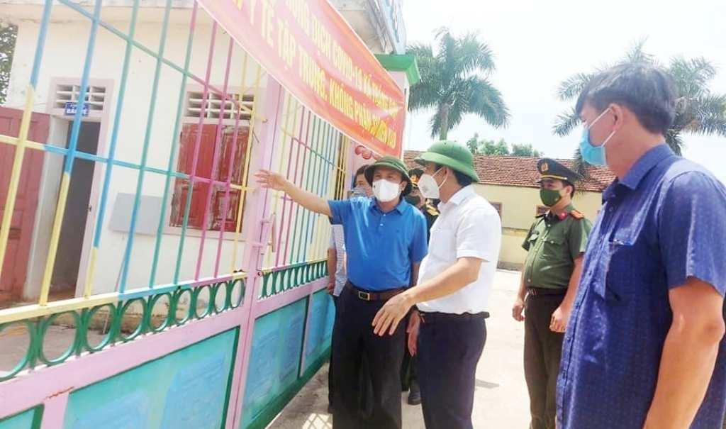 Tạm đình chỉ công tác Chủ tịch xã ở Nghệ An vì 'bỏ trống' khu cách ly