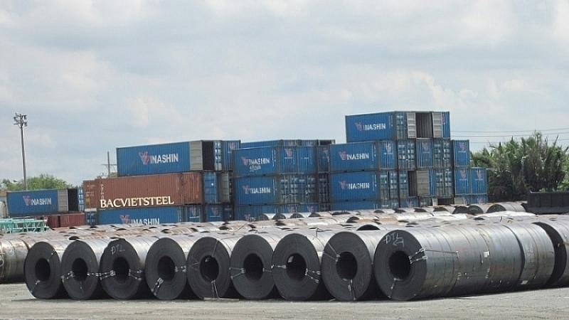 Xuất khẩu thép nửa đầu năm 2021 tăng gần 85%