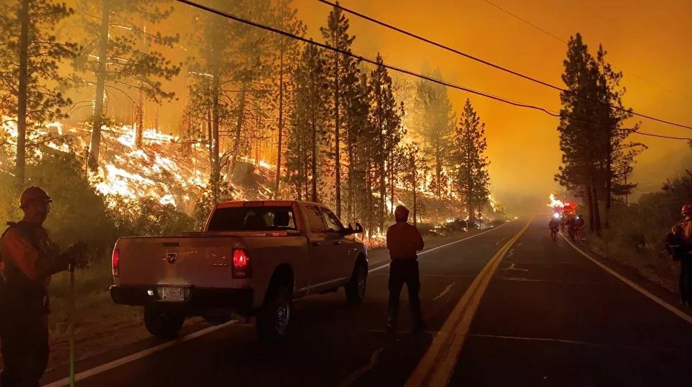 California hứng chịu trận cháy rừng thảm khốc