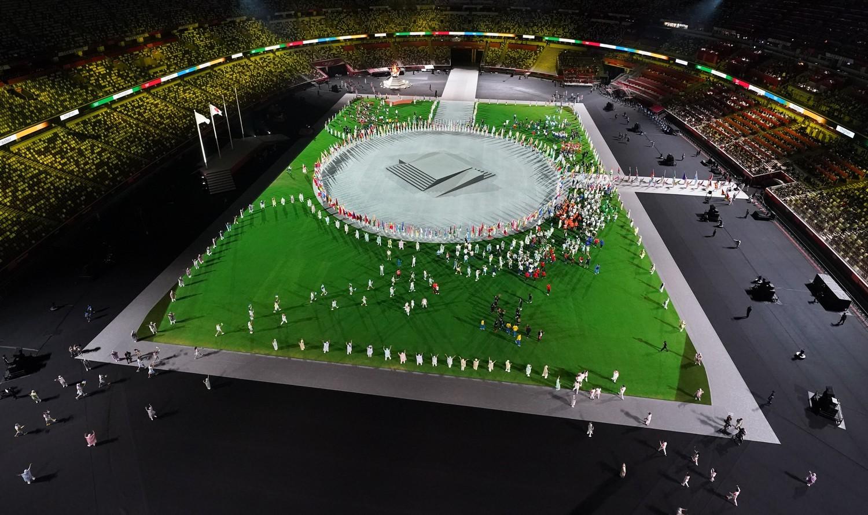 Những hình ảnh ấn tượng tại lễ bế mạc Olympic Tokyo 2020