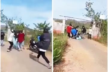 Quảng Nam: Công an làm việc với hai nhóm nữ sinh đánh nhau