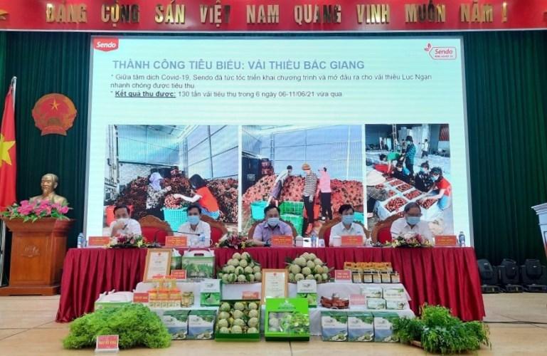 Xúc tiến tiêu thụ na Chi Lăng và các sản phẩm OCOP Lạng Sơn