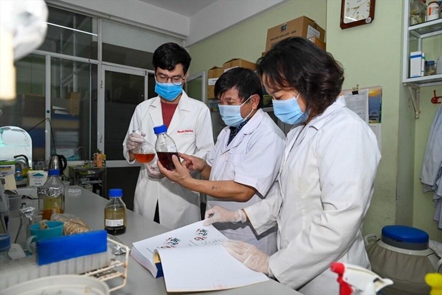 Thử nghiệm trên người nhiễm SARS- CoV- 2 bằng thuốc điều trị Covid-19 'made in' Việt Nam