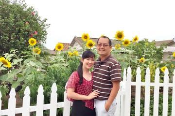 Cô vợ đảm đang khoe vườn cây thuần Việt trĩu quả, tự hào từng đạt giải nhất cuộc thi 'My garden' tại Mỹ