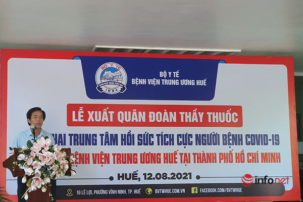 Hàng trăm y bác sĩ miền Trung vào TP. HCM hỗ trợ chống dịch