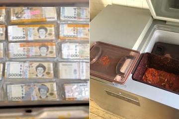 Đi mua tủ lạnh, người đàn ông nhặt được kho báu tiền giấu bên trong