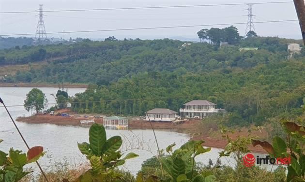 Chủ khu nghỉ dưỡng trái phép trên rừng bán ngập bị phạt 70 triệu đồng