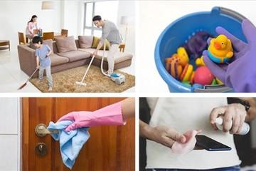 Cách làm sạch nhà cửa, chặn nguồn lây nhiễm Covid-19