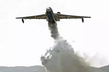 Rơi máy bay cứu hỏa ở Thổ Nhĩ Kỳ, 8 người thiệt mạng