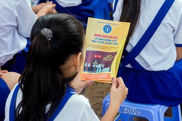 99,32% học sinh, sinh viên tỉnh Tiền Giang tham gia BHYT