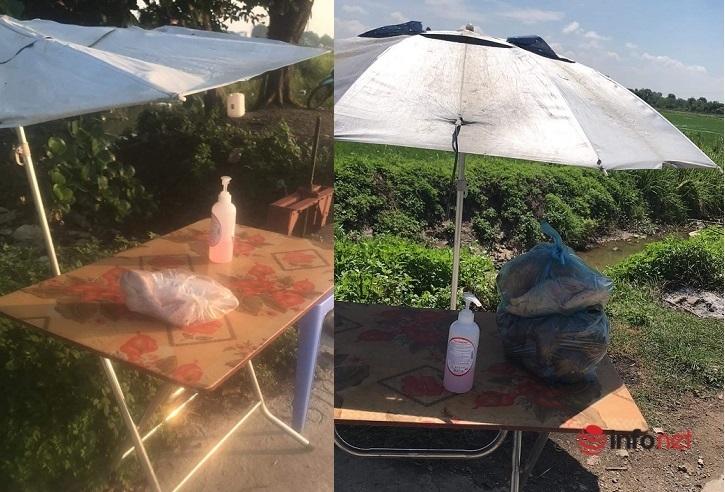 Làng Bùng,Phong tỏa,chợ online vùng dịch