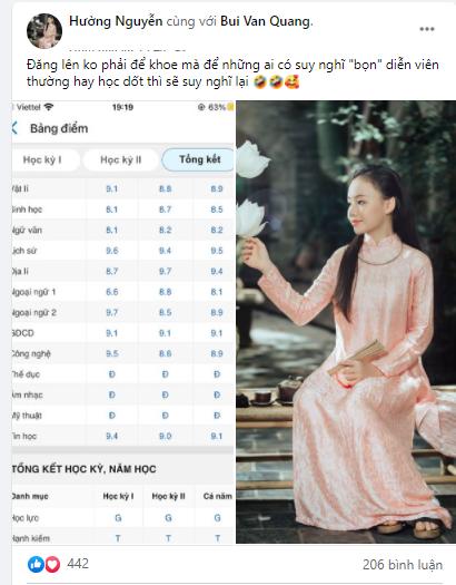 """Bị gièm pha """"diễn viên học dốt"""", mẹ của diễn viên nhí Hồng Nhung đáp trả """"cực gắt' kèm bằng chứng cụ thể"""