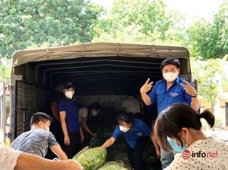 'Nhật ký' Bí thư Đoàn vùng phong tỏa, bán hàng tấn rau củ/ngày, hỗ trợ nghìn người mắc kẹt