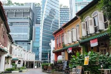 Độc đáo con phố tĩnh lặng cạnh khu mua sắm sầm uất nhất Singapore