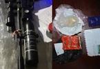 Hà Tĩnh: Bắt đối tượng buôn ma túy có 2 tiền án và vũ khí nóng