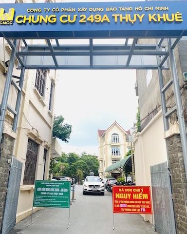 Hà Nội: Dân chung cư lo lắng khi phòng xét nghiệm Covid-19 đặt trong tòa nhà