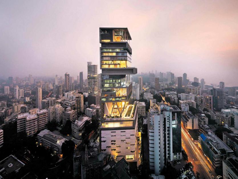 Tỷ phú thế giới,Bezos,Mark Zuckerberg,Bill Gates,Mumbai Mukesh Ambani,Bất động sản