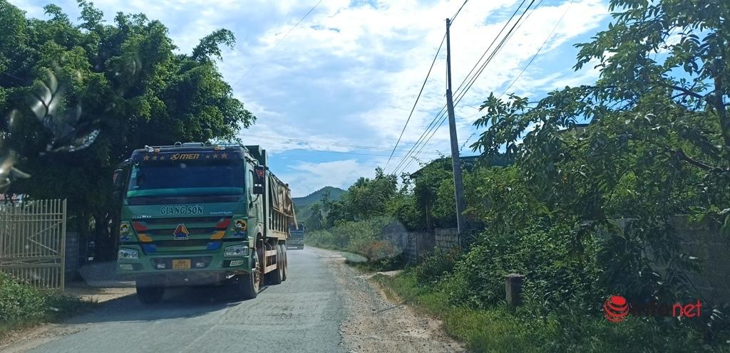 Thanh Hóa,Xe tải,đường hư hỏng,đường xuống cấp,Ổ gà,Như Thanh