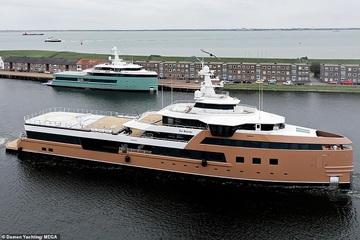 Mặc đại dịch, các tỷ phú Nga vẫn đầu tư sắm siêu du thuyền trị giá hàng trăm triệu USD