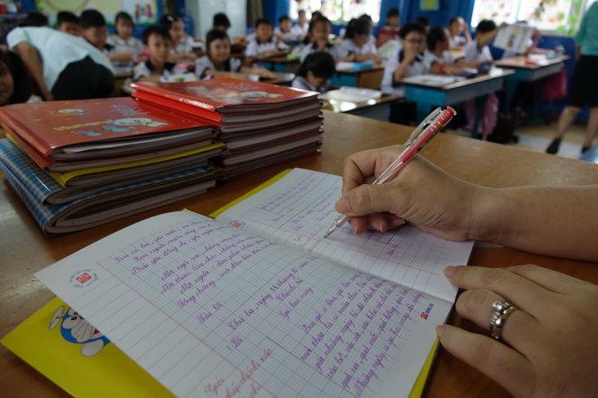 đánh giá học sinh,Thông tư 22,giấy khen