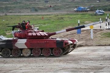 Đội tuyển xe tăng Việt Nam mở màn thuận lợi, hạ 5/5 mục tiêu tại Army Games 2021