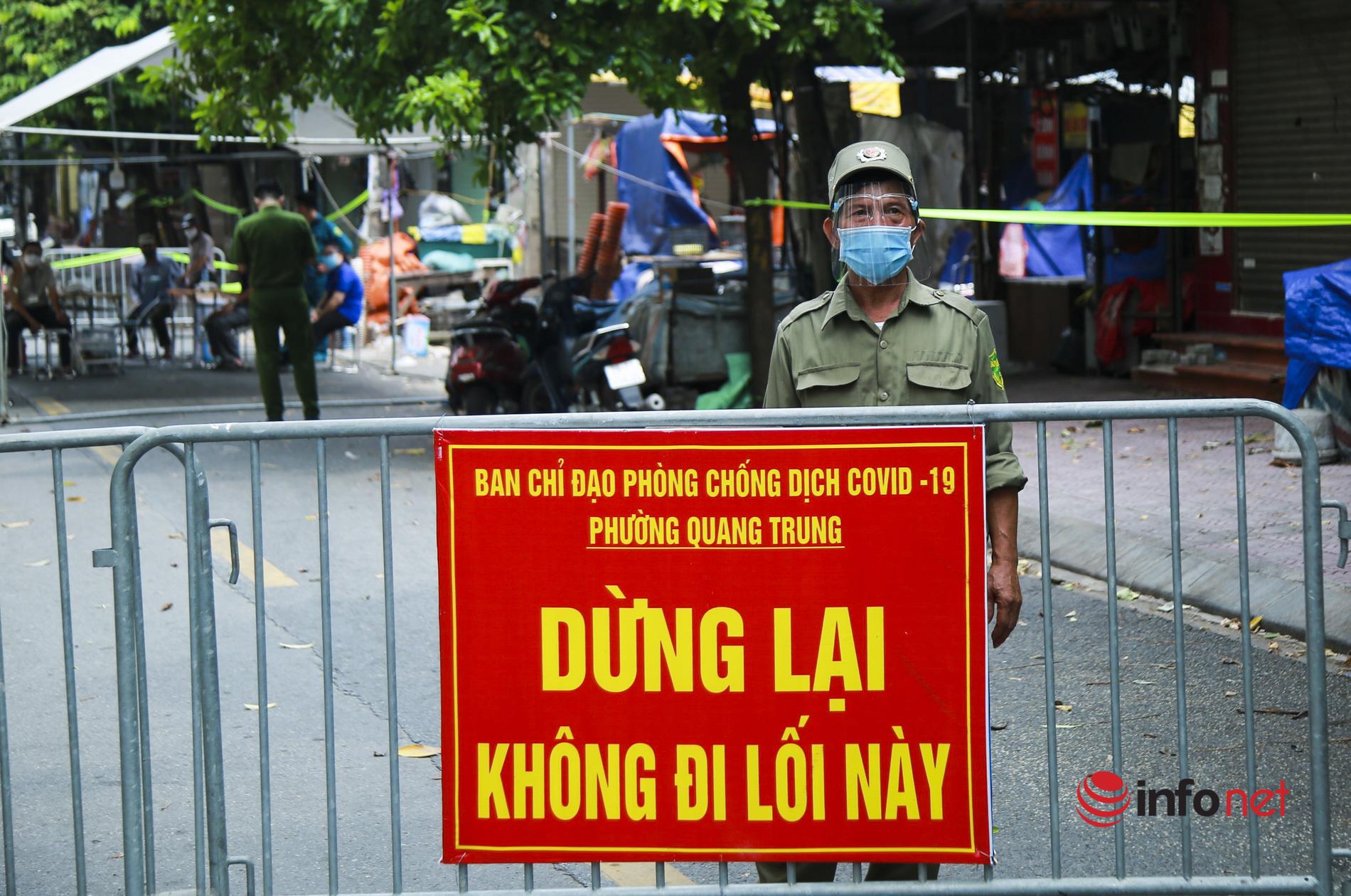 Chợ Hà Đông,phong toả,F0 đi chợ,truy vết,Bà Nguyễn Thị Thu,lấy mẫu xét nghiệm,tiểu thương chợ Hà Đông