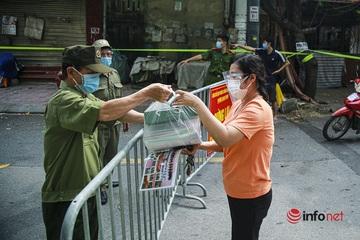 Hà Nội: F0 đến khu chợ dân 2 phường đi chung, phong tỏa 2 tuyến phố