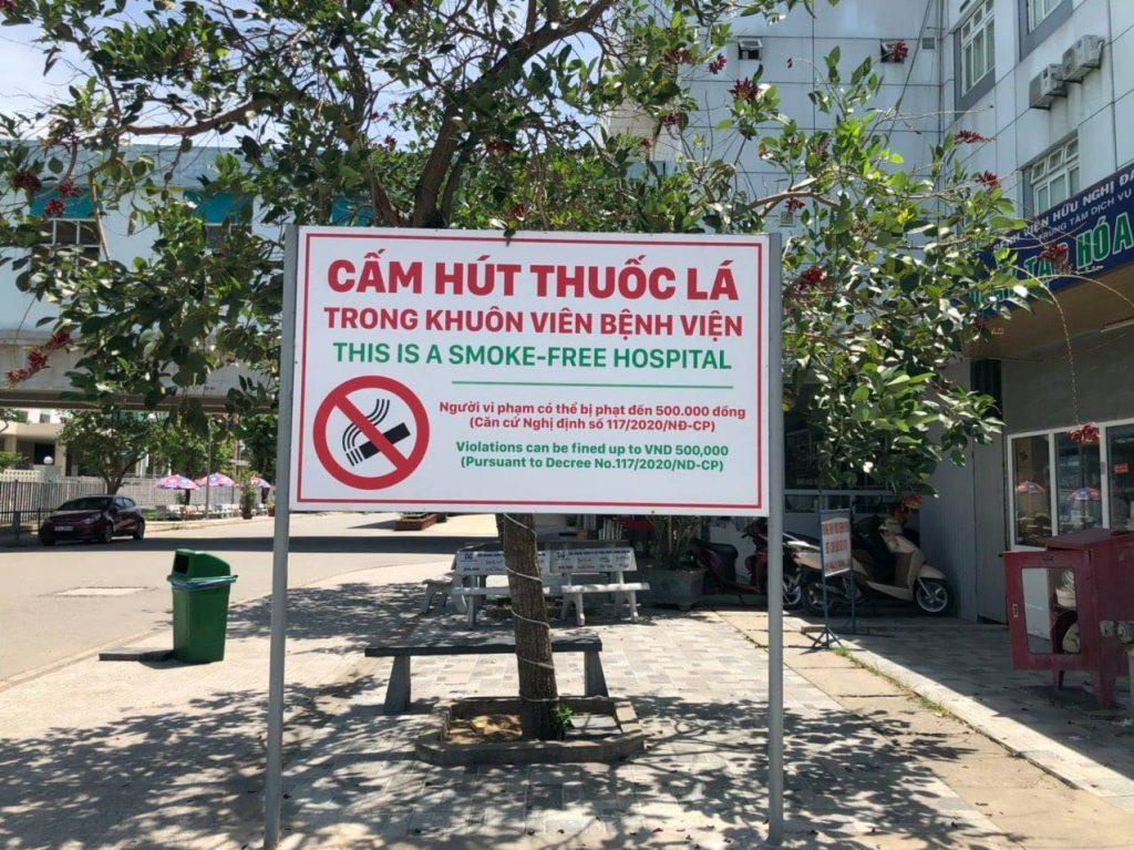 Bệnh viện HNĐK Nghệ An nói không với thuốc lá