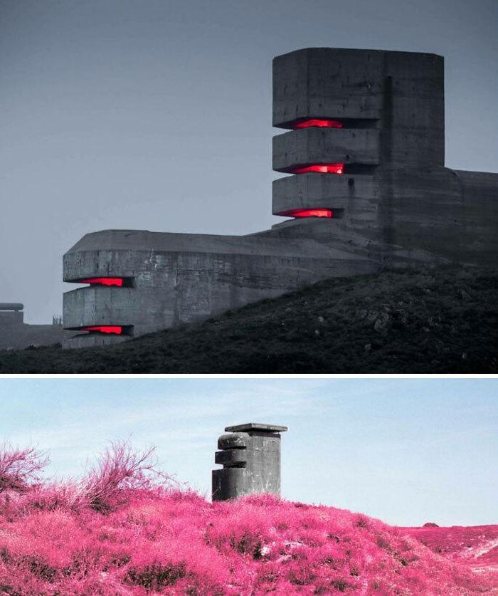 Những tòa nhà nhìn thoáng qua đã thấy 'rùng mình'