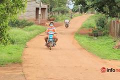 Bê tông, nhựa hóa đường giao thông nông thôn huyện biên giới, tai nạn giảm rõ rệt