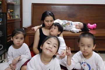Bà mẹ sinh 5 kỷ lục ở Việt Nam, nỗi đau khi cả nhà mắc Covid-19
