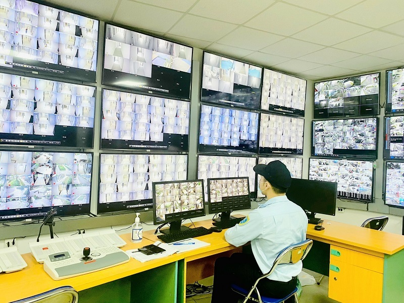 Hệ thống an ninh đa lớp hiện đại: 'Lá chắn' bảo vệ 'vùng xanh' The Matrix One