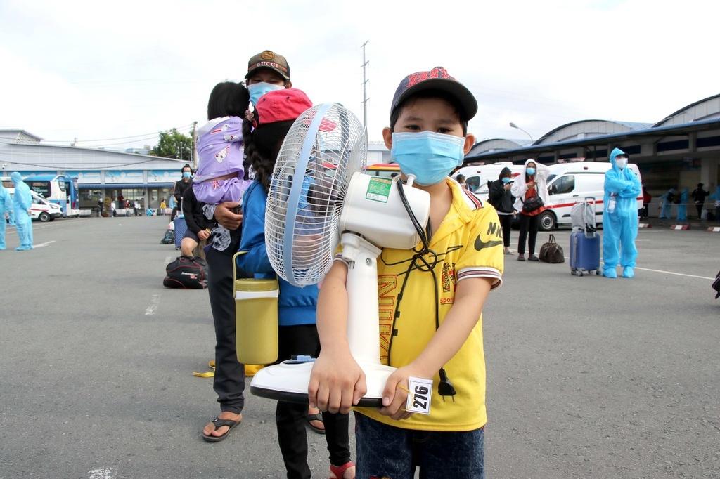Thái Bình tổ chức đón học sinh từ TP.HCM về quê học tập