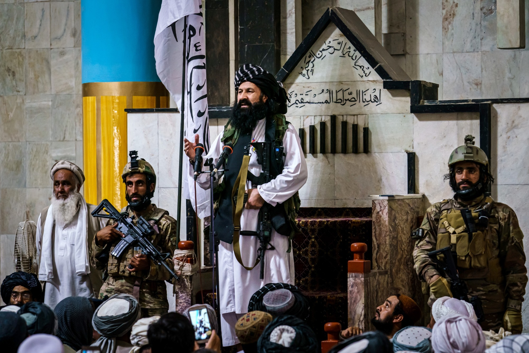 Thủ lĩnh Taliban bị Mỹ truy nã có mặt trong Hội đồng lãnh đạo Afghanistan