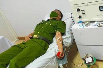 Đại úy Công an Hà Tĩnh hàng chục lần 'cứu' bệnh nhân nhóm máu hiếm