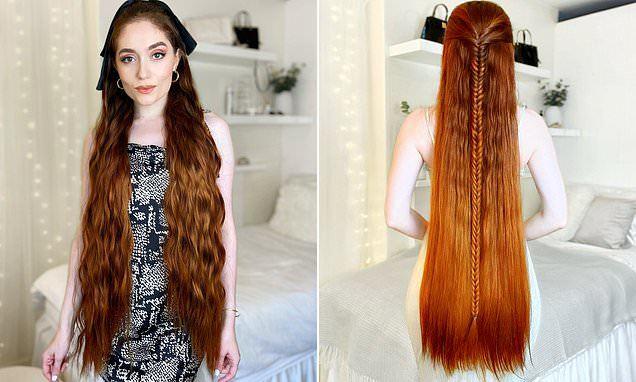 5 năm không cắt tóc để thành 'công chúa tóc mây' phiên bản đời thực