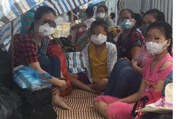 Người dân 'mắc kẹt' ở cửa ngõ Thái Bình: Đưa về các huyện cách ly, đề nghị các tỉnh không để dân tự về